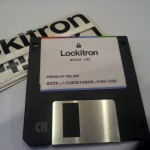 Super legit - Press Kit on a floppy disk!