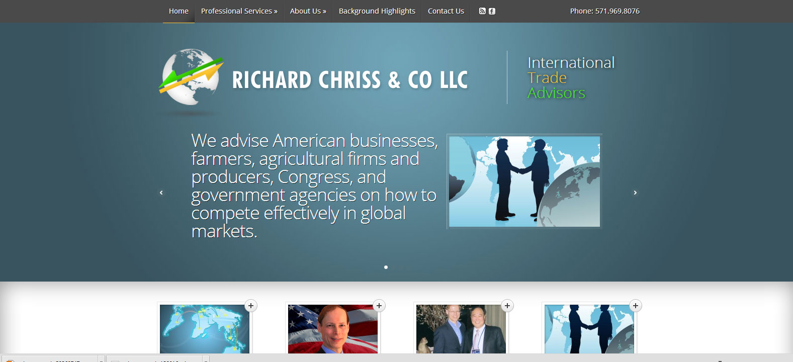 Richard Chriss & Co – Site Refresh